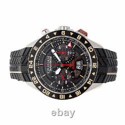 Graham Silverstone RS GMT Steel Auto 46mm Strap Tang Mens Watch 2STDC. B08B. K105S