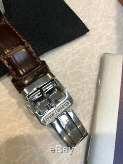 Grand Seiko Automatic GMT Leather Strap Men's Watch SBGM221