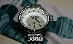 Grand Seiko SBGM221 Automatic GMT Watch with Forstner Beads of Rice Bracelet