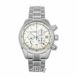 Grand Seiko Sport Collection Spring Drive GMT Steel Auto 43.5mm Mens SBGC201