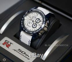Grand Seiko Sport Spring Drive NISSAN GTR GMT Chrono SBGC229 Limited Mens Watch