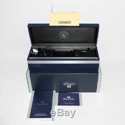 Grand Seiko Spring Drive Chronograph Titanium Ceramic Auto Mens Watch SBGC223