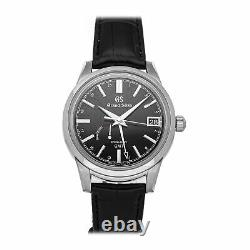 Grand Seiko Spring Drive GMT Steel Auto 40.2mm Mens Watch SBGE227