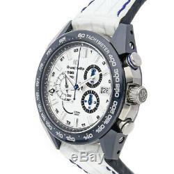 Grand Seiko Spring Drive LE Titanium Ceramic Mens Watch Date Chrono SBGC229