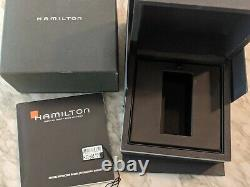 Hamilton Jazzmaster GMT Men's Watch with Leather Band H32695731