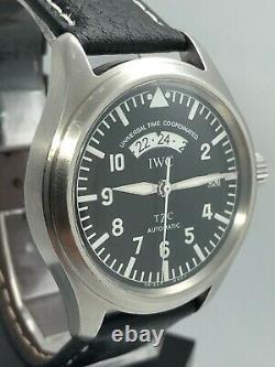 IWC Pilot Spitfire UTC Black Dial with original box