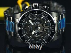 Invicta 48mm Men's Marvel PUNISHER Chrono Limited Ediiton Black Bracelet Watch