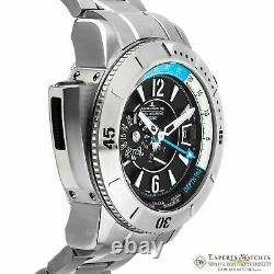 JAEGER LeCOULTRE Master Compressor Titanium Diving PRO Geographic GMT Watch 46mm