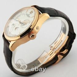 Jaeger LeCoultre Master Geographic 18K Pink Gold Q1422521 176.2.29. S 39mm B/P