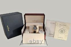 Jaeger LeCoultre Master Geographic 18K Rose Gold Automatic Watch 142.2.92. S 38mm