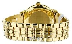 Jaeger LeCoultre Master Geographic 38mm 18K Yellow Gold Bracelet REF 169.1.92
