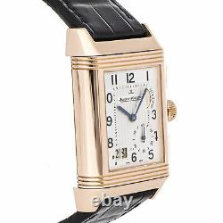 Jaeger-LeCoultre Reverso Grande GMT Duo Manual Gold Mens Strap Watch Q3022420