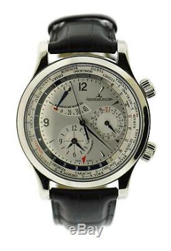 Jaeger Lecoultre Master Geographic Stainless Steel Watch Q1528420