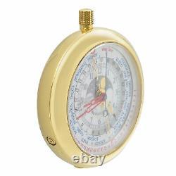 Louis Vuitton Complications 18K Yellow Gold World Time Quartz Watch 2417349