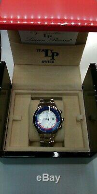 Lucien Piccard Quartz Gmt World Time Watch