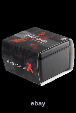Luminox Bear Grylls Air GMT XB. 3762 44mm Black Mesh Steel Quartz Men's Watch