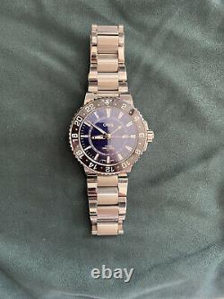 MINT Oris Aquis GMT Date Blue Dial Men's Watch 01 798 7754 4135-07 8 24 05PEB