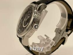 MONTBLANC Star World Time GMT MB109285 Automatic Black Men's Watch Box & Papers