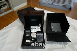 Maurice Lacroix Watch Masterpiece Worldtimer Watch Box 42mm MP6008-SS002-110