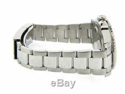 Mens Rolex Stainless Steel GMT-Master II Watch Black Dial & Ceramic Bezel 116710