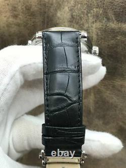 Montblanc Nicolas Rieussec Chronograph 106595 Silver Dial Automatic Men's Watch
