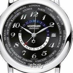 Montblanc Star World Time GMT Automatic Men's Watch 109285