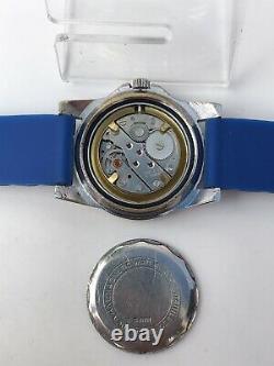 Mortima Super Datomatic Diver GMT Vintage Watch Mans Waterproof 100% De Luxe