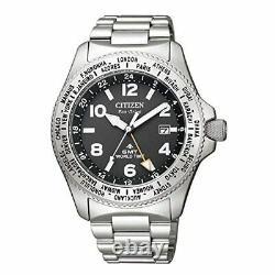 NEW Citizen PROMASTER LAND BJ7100-82E Eco-Drive GMT World Time Men Watch Genuine