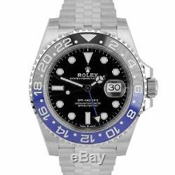 NEW DECEMBER 2019 Rolex GMT Master II Batman Black Blue SS Ceramic 126710 BLNR