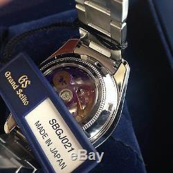 NEW! Grand Seiko SBGJ021 135th Anniversary Hi-Beat GMT