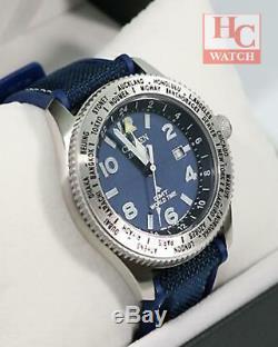 New Citizen Eco-drive Promaster Land BJ7100-15L GMT Worldtime Analog Men's Watch
