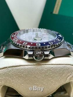 New Rolex GMT-Master II 40mm 126719 Pepsi Meteorite Basel 2019