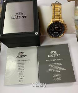 ORIENT Automatic FEU07001BX Stainless Steel 100m FEU07001 With ORIENT Box