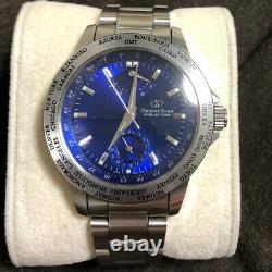 ORIENT STAR World Time WZ0031FA GMT Power Reserve Automatic Sapphire Crystal