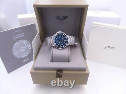 ORIS AQUIS CARYSFORT REEF LIMITED EDITION Men's Watch 01 798 7754 4185-Set MB