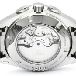 Omega Seamaster Aqua Terra GMT Chrono Auto Steel Watch 231.10.44.52.04.001 Mint
