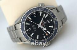 Omega Seamaster Planet Ocean GMT 44mm Co-Axial Automatic Watch Titanium