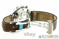 Omega Speedmaster Broad Arrow GMT Automatic CO-Axial Chronograph Watch 38815037