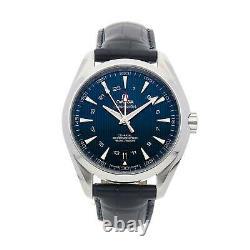 PRE-SALE Omega Seamaster Aqua Terra GMT Watch 231.13.43.22.03.001 COMING SOON