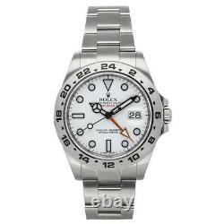 PRE-SALE Rolex Explorer II Auto Steel Men's Watch 216570 Date GMT COMING SOON