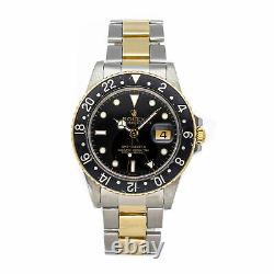 PRE-SALE Rolex GMT Master Auto Steel Yellow Gold Men's Watch 16753 COMING SOON