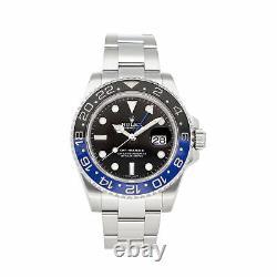 PRE-SALE Rolex GMT-Master II Batman Auto 40mm Men's Watch 116710BLNR COMING SOON