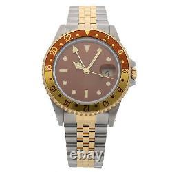 PRE-SALE Rolex GMT Master II Rootbeer Auto 40mm Men's Watch 16713 COMING SOON