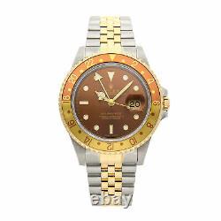 PRE-SALE Rolex GMT Master II Rootbeer Auto Steel Men's Watch 16713 COMING SOON