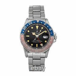 PRE-SALE Rolex GMT-Master Pepsi Auto 40mm Steel Men's Watch 1675 COMING SOON