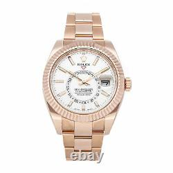 PRE-SALE Rolex Sky-Dweller Auto Rose Gold Men's GMT Watch 326935 COMING SOON