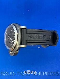 Panerai Luminor 1950 Chrono Monopulsante 8-Days GMT Titanium Manual PAM311