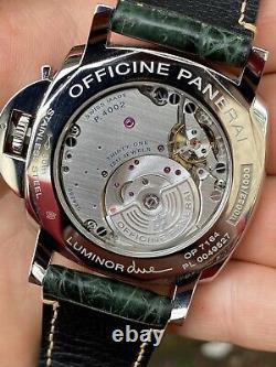 Panerai Luminor Due 3-Days GMT, Complete Set, Near Mint