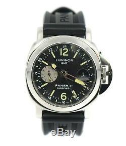 Panerai Luminor GMT Stainless Steel Watch PAM88
