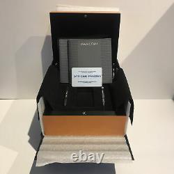 Panerai Luminor GMT Steel Titanium Auto 44mm Mens Watch Bracelet PAM 161